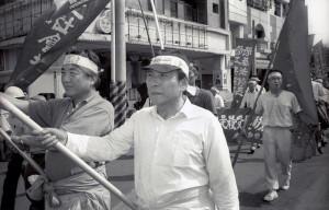 林書揚(右)和陳映真(左)(1991年)。