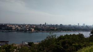 從卡薩布蘭卡眺望哈瓦那。