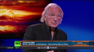 約翰・皮爾格(John Pilger)接受俄羅斯媒體電專訪。