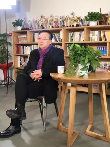 《人民的名義》導演李路接受大陸媒體專訪。