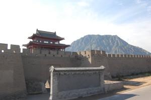 雞鳴驛古城正門。