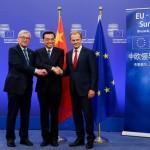 李克強出席第十九次中國-歐盟領導人會晤。