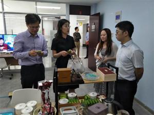 兩岸青創團隊的交流已經成為一種新趨勢,圖為南京市海峽兩岸青年創業基地的一場交流活動。(中國台灣網)
