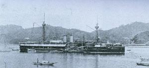 北洋艦隊定遠號