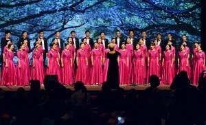 紀念大會在《鼓浪嶼之波》和《我和我的祖國》的歌聲中結束,而兩岸交流的故事仍在繼續。