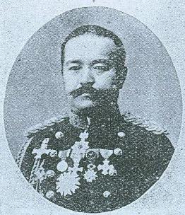第三師團長桂太郎中將