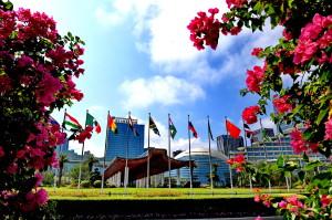 9月3日至5日,金磚國家領導人會晤在廈門國際會議中心成功舉行。     (新華社 張國俊 攝)