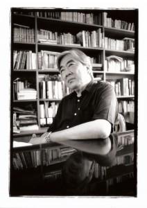 陳映真,2001年6月19日,拍攝於台北縣南勢角,陳映真舊居。 陳文發/攝影