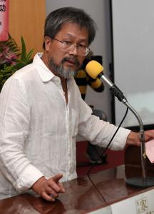 中華兩岸和平發展聯合會主席、作家藍博洲