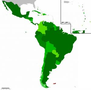 拉美和加勒比共同體成員國家。