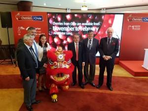 智利櫻桃商針對中國大陸市場,提出龐大的營銷推廣計畫。