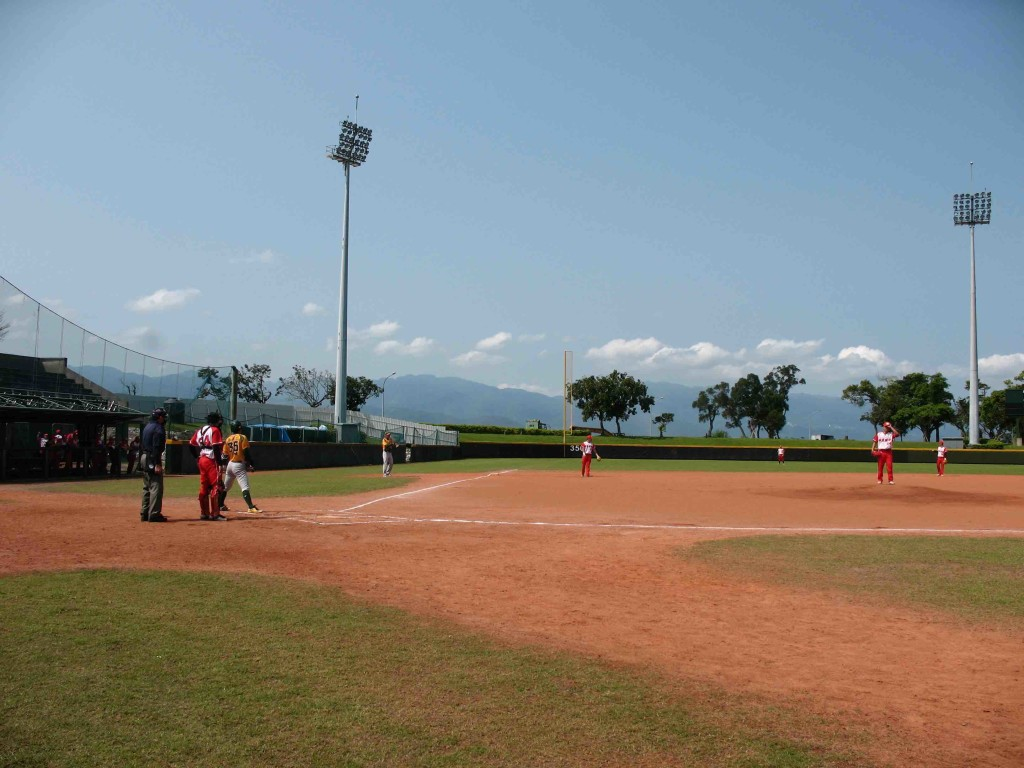 位在後山的羅東棒球場是天津隊2018年移訓宜蘭的場地。
