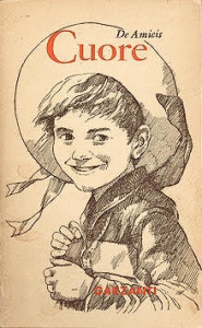 《愛的教育》愛德蒙多·德·亞米契斯著 1886.10.18 初版封面