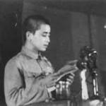 田富達在政協會議上代表台灣少數民族發言。