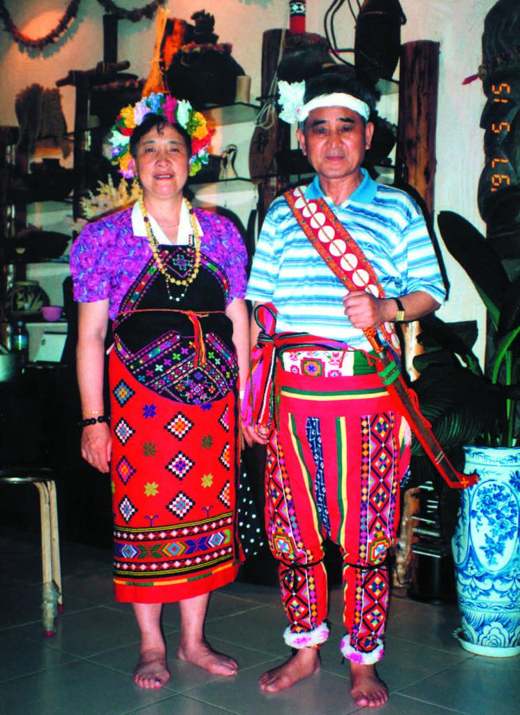 1997年田富達夫婦回到台灣新竹關西的故鄉。