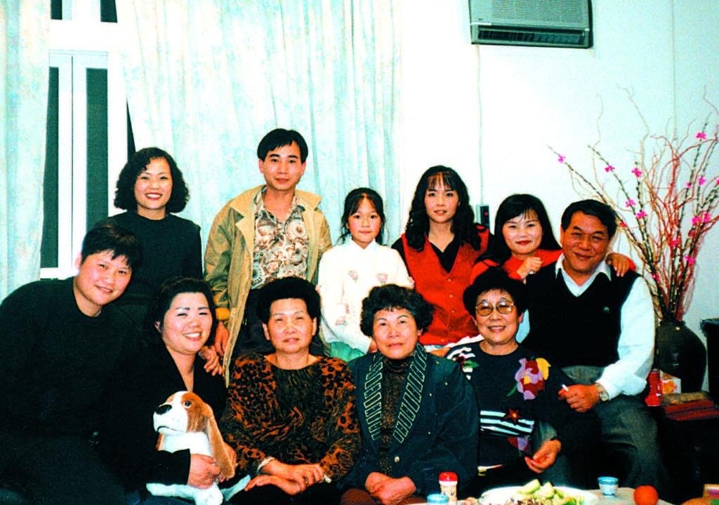 徐兆麟1994年返台與親人團聚。