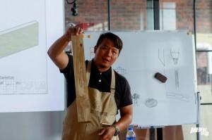 台灣人黃上智創立了上海魯班學堂,隨著兩岸人才同等待遇的推動,今年他順利入選「閔行工匠人才庫」。