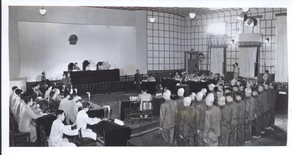 瀋陽軍事法庭現場一。