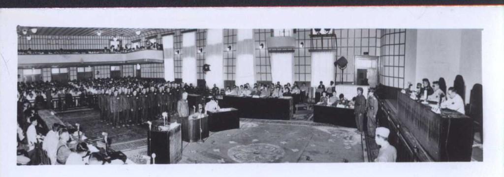瀋陽軍事法庭現場二。