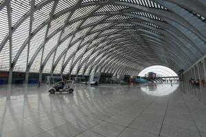 天津西站內部一景